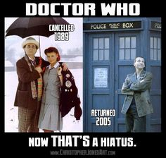 Whovians, the fans who waited