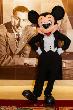 Mickey Mouse and his creator, Walt Disney