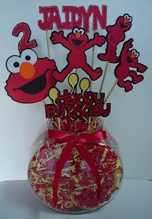Made with Elmo's Party