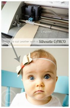 how to cut leather with silhouette cameo