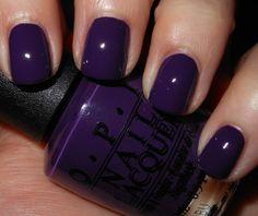 style, purple, purpl color, colors, nail arts, beauti, winter nails, nice color, opi vant
