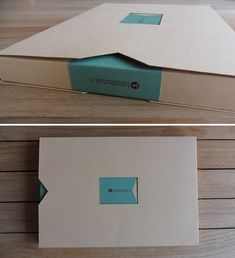 Clever portfolio packaging (by Stefania Capellupo)