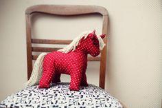 vintag plush, horses, 1950s, vintage patterns, plush hors