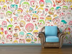 wallpaper reminds me of super jail