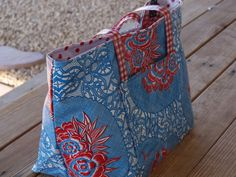 Oil Cloth Bag DIY Tutorial (update)
