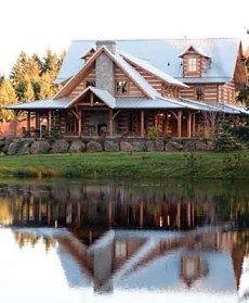 Appalachian style home in washington state.