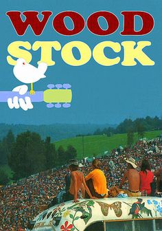 stuff, hippi, poster, 60s, music festivals, woodstock 1969, rock style, peac, thing