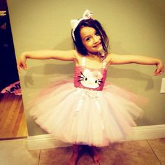 Hello kitty costume by LuckyBoutique2886 on Etsy, $50.00