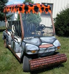 Custom Golf Cart--for @Jaime Brower Ellison i think you need one of these Ute'd out