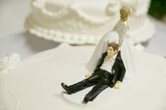 Funny Wedding Cake Toppers Idea