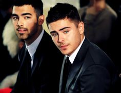 The two most beautiful men to walk the Earth.