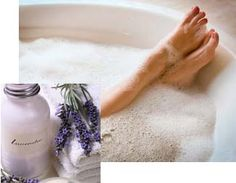 DIY Aromatherapy Bubble Bath