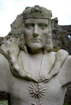 King Richard III at Middleham Castle