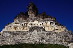 El Castillo in Belize.