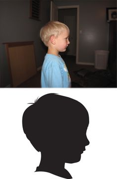 cameo portrait silhouettes