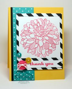 FM141 - Dahlia On Film -Jen Timko  Stampin' Up!
