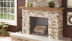 Do you like the look of stonework, but think working with it would be too complicated, messy and time-consuming? Consider faux stone veneer. It looks exactly like real stone, but it's 75% lighter. Regular stone requires backer board, but you can apply stone veneer directly to most surfaces, including drywall, concrete or brick. Faux stone veneer can be used indoors or outdoors.
