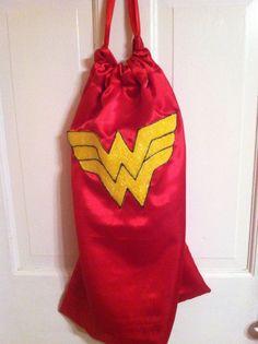 Wonder Woman Party ~ Favor ~ Wonder Woman Cape