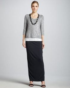 Eileen Fisher Maxi Pencil Skirt, Petite on shopstyle.com