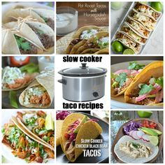 Favorite Slow Cooker Taco Recipes | mountainmamacooks.com