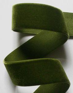 Color Verde Olivo - Olive Green!!! Ribbon