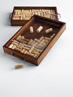 So that's what you can do with those wine corks..........