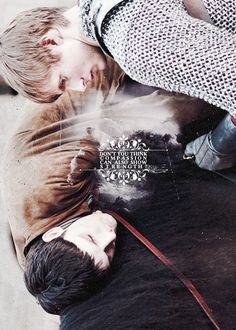 """Merlin & Arthur """"Don't you think compassion can also show strength?"""""""
