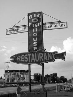Kent Caledonia Michigan Big O Fish House...smoke House and Restaurant