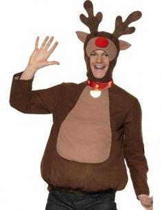 fanci dress, de nuevo, christma costum, antler, reindeer top