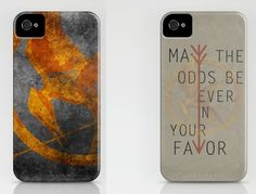 Hunger Games phone cases.