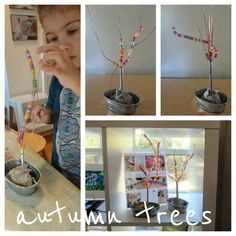 child development, autumn tree, develop center, gate child, garden gates, gardens, children, trees, fine motor