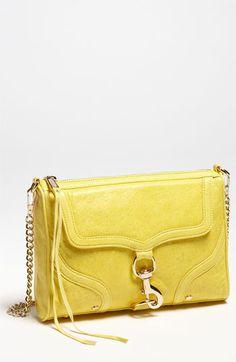Rebecca Minkoff 'M.A.C. Bombe' Shoulder Bag Yellow