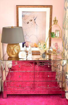 Dalliance Design: Mirrored Dresser