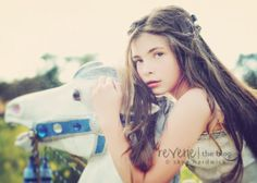 A carousel horse + a field of tall grass ... what could be better? Showcase on the Reverie Blog! http://reveriemine.com/fairytale-2/