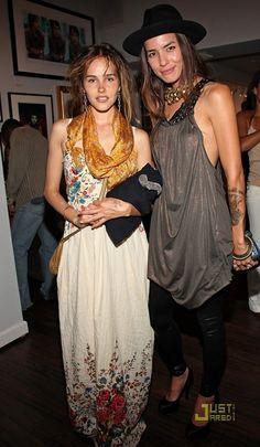Isabel Lucas and Tasya Van Ree