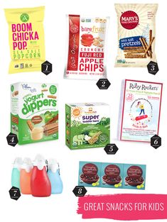 Healthy on-the-go snacks for kids // Little Hip Squeaks