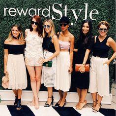 Dallas Shaw Instagram { with my very favorite ladies at my very favorite #NYFW event } @venzedits @damselindior @grasiemercedes @kattanita @juliahengel