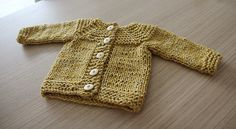 Ravelry: Plain Cardigan pattern by Anna & Heidi Pickles