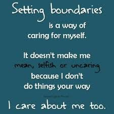 Learning how to set boundaries is an important part of the recovery process. Initially, it may feel strange or foreign, but being good to yourself will empower you to be good for others.