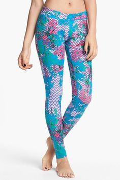 10 Cool Pairs Of Yoga Pants Perfect For Downward Dog /Unit-Y Print Legging, $42, available at Nordstrom.