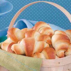 Bread Machine Crescent Rolls Recipe