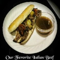 our favorite italian beef