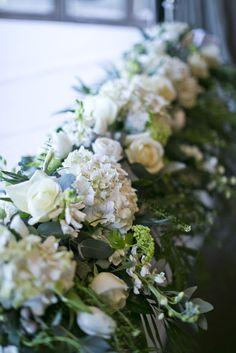 Bridal Bouquet, Boutonniere, Ceremony