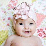 diy headband, pink roses, baby girl headbands, baby headbands, flower headbands, handmade headbands, babi, baby girls, hat