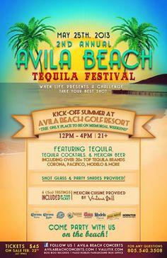 Avila Beach Tequila Festival  May 25, 2013