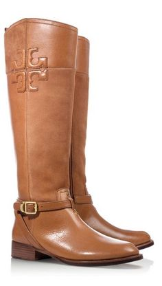 Classic riding boots by Tory Burch