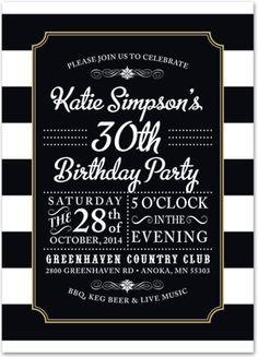 Surprise 30 Birthday Invitations for best invitations design