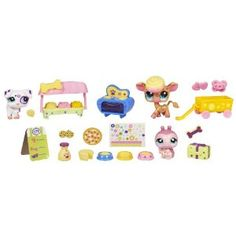 Littlest Pet Shop Themed Play Pack - Spot And Dot Treat Shop