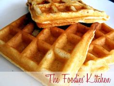 Apple Waffles by The Foodies' Kitchen, via Flickr