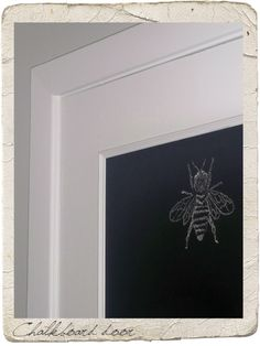 another chalkboard door- this time it has the directions on the website